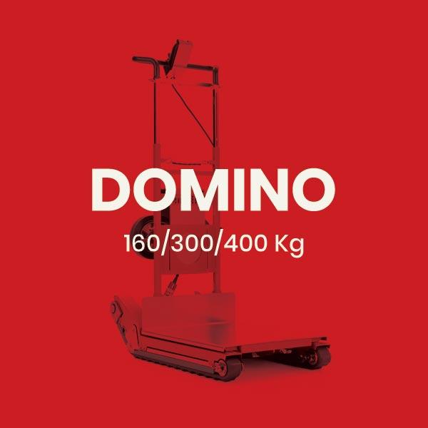 Domino Automatic – Carretilla oruga sube escaleras