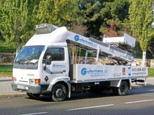 montamuebles pratika 25m en camión