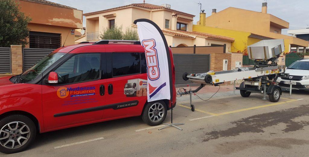 CEM Elevadores vende una PAUS Easy 21 a la empresa Catalana Mudanzas Figueres