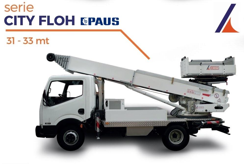 PAUS City Floh 31 – 33 metros