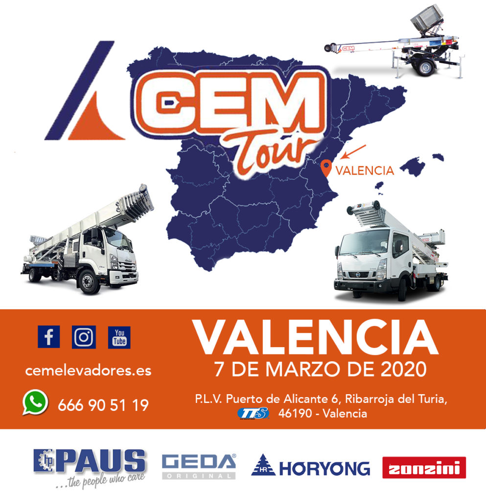 Open day Valencia – CEM Tour 2020
