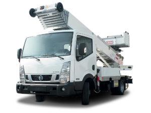 Elevadores sobre camión