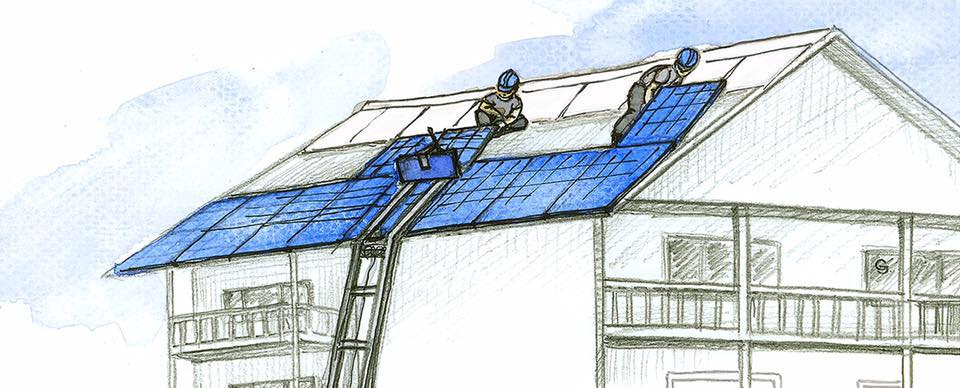 elevador paneles solar GEDA SolarLift