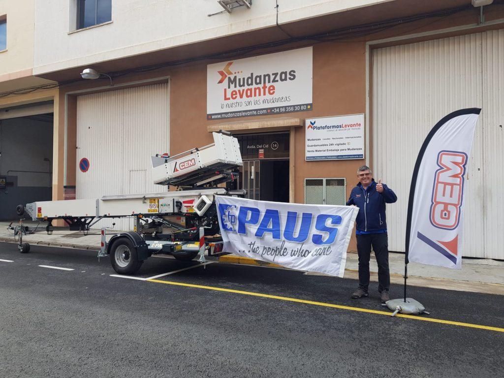 CEM vende una PAUS Easy Big 31 en Valencia