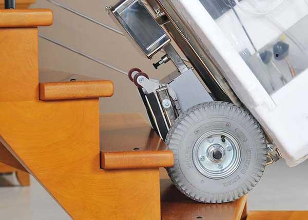 carretilla eléctrica sube escaleras buddy lift CEM Elevadores