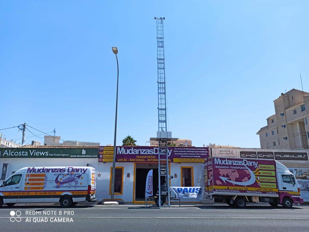 CEM vende una PAUS Easy 21 a Mudanzas Dany de Altea, Alicante.