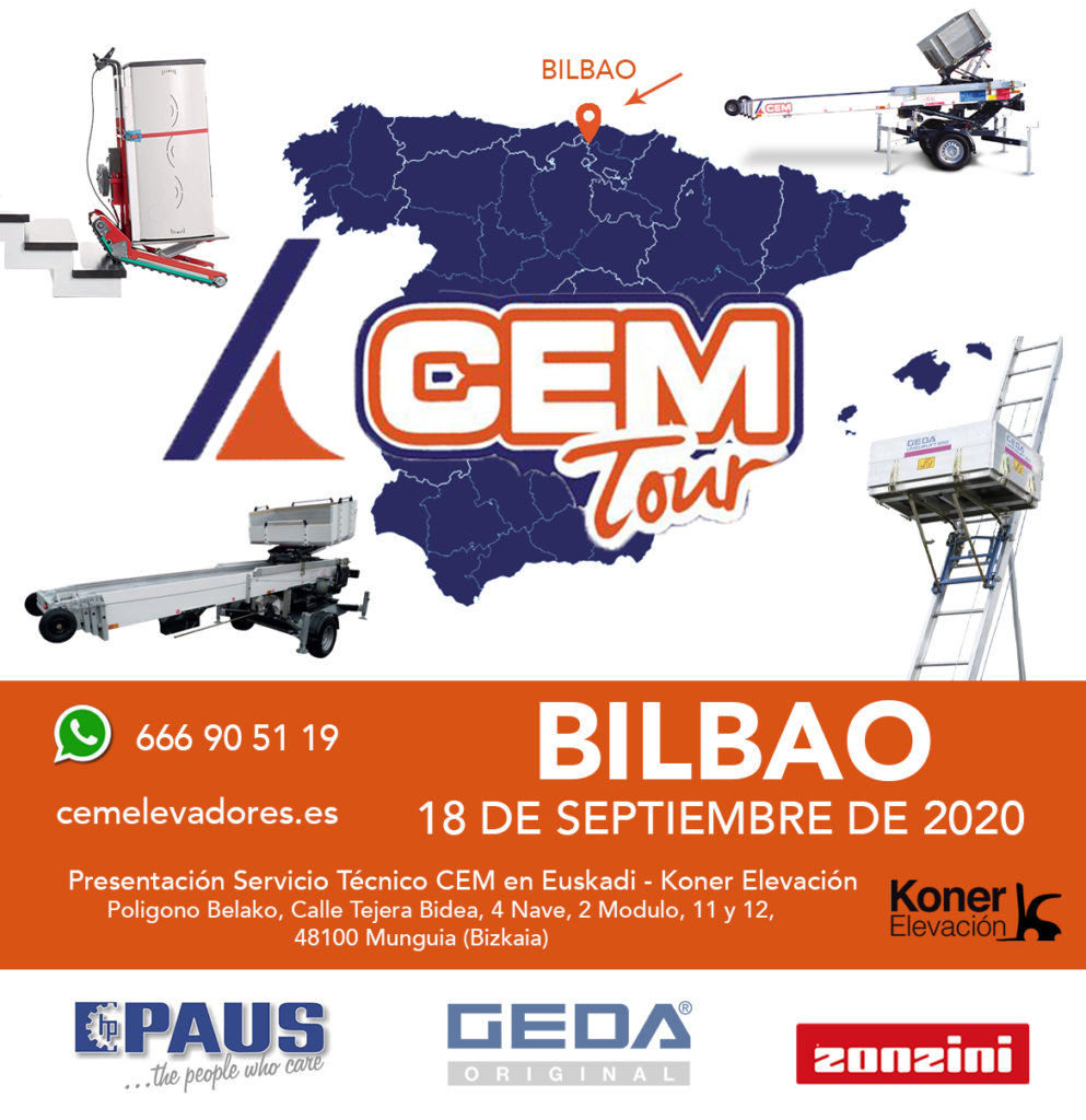 Open Day BILBAO - CEM Tour 2020