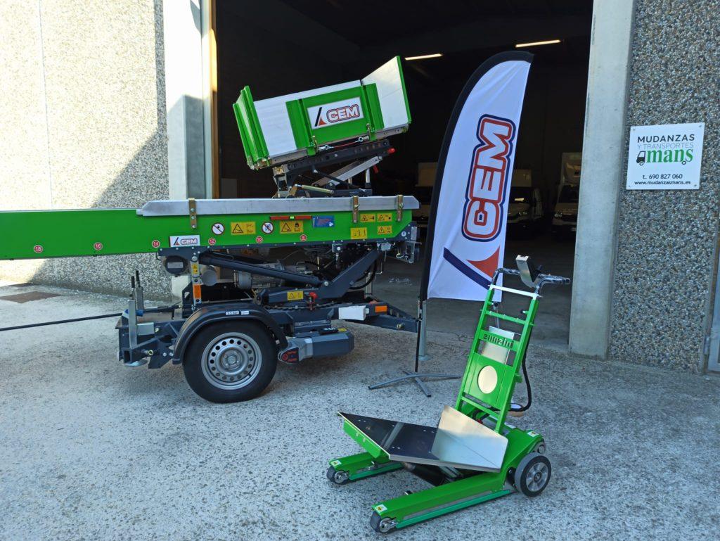CEM entrega una PAUS Easy 24 y un Domino Automatic a Mudanzas Mans de Barcelona