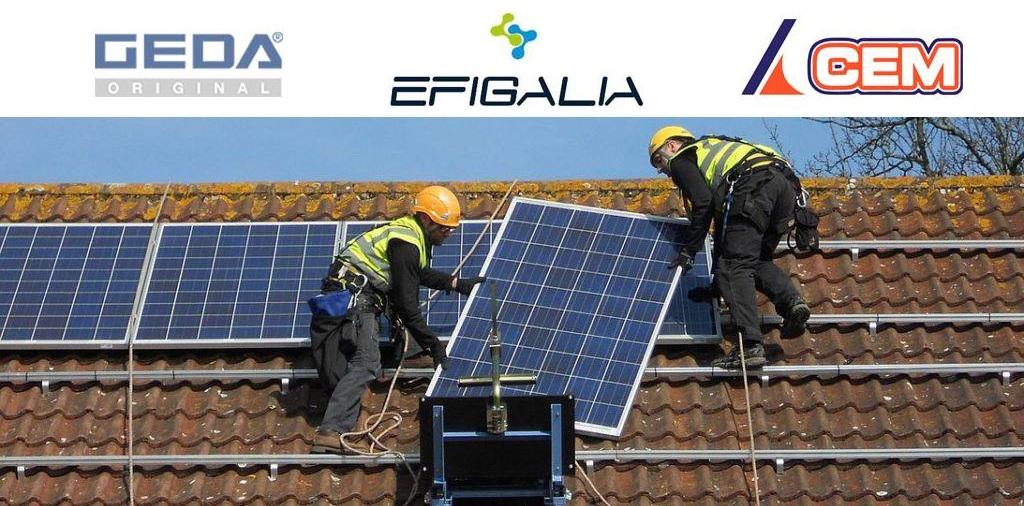 CEM Elevadores vende un elevador GEDA Solar Lift a Efigalia en Lugo