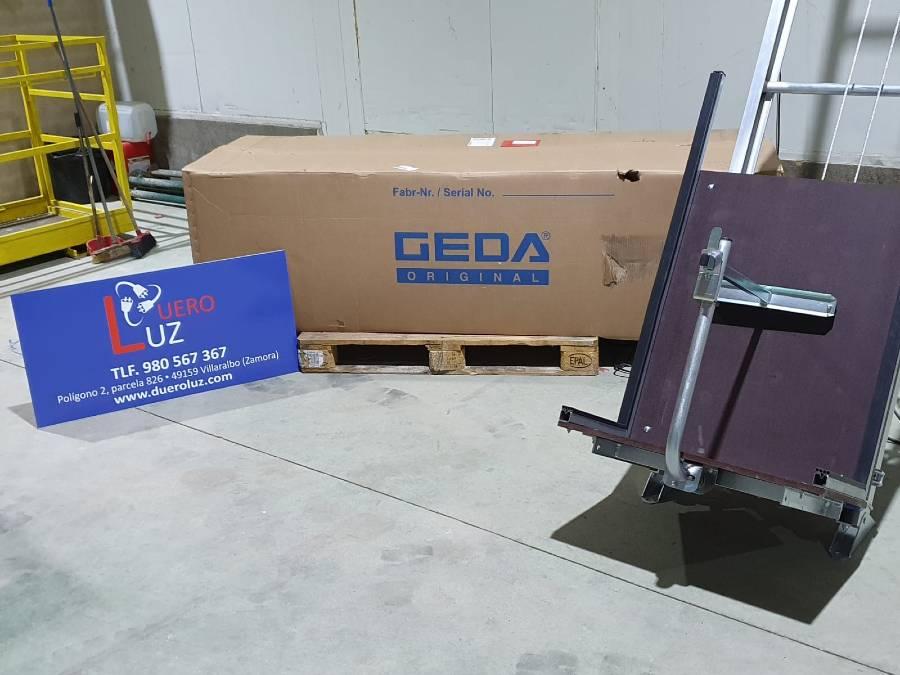 CEM vende un elevador GEDA Solar Lift a la empresa DueroLuz en Zamora