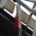Barandilla para tejados inclinados