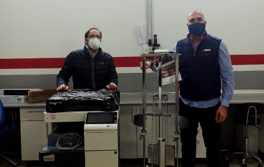 CEM entrega un Buddy LIFT 160kg a la empresa SGD Norte en Madrid