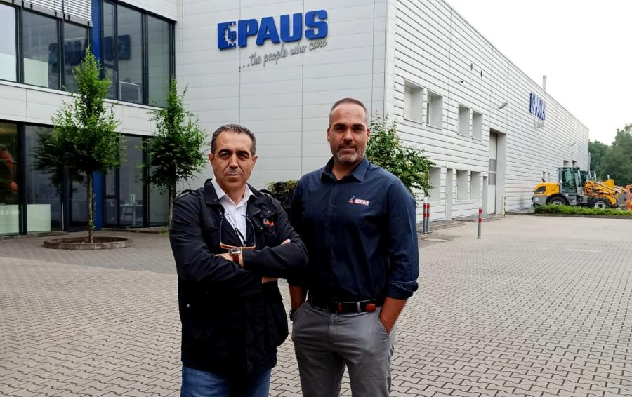 CEM Elevadores visita PAUS y GEDA en Alemania para valorar el trabajo realizado en 2020 y 2021